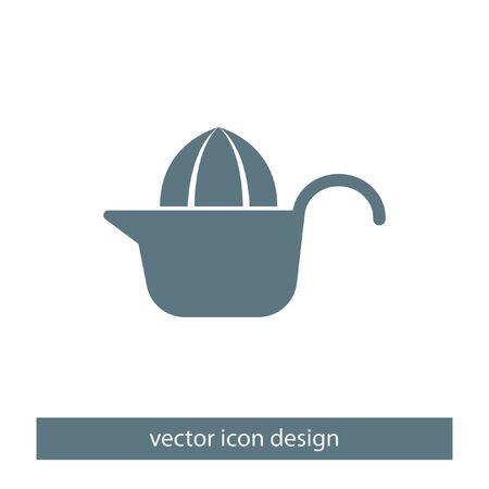 citrus squeezer vector icon