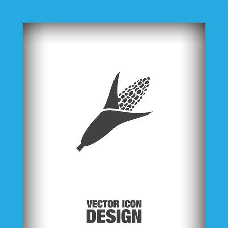 planta de maiz: icono de vector de ma�z