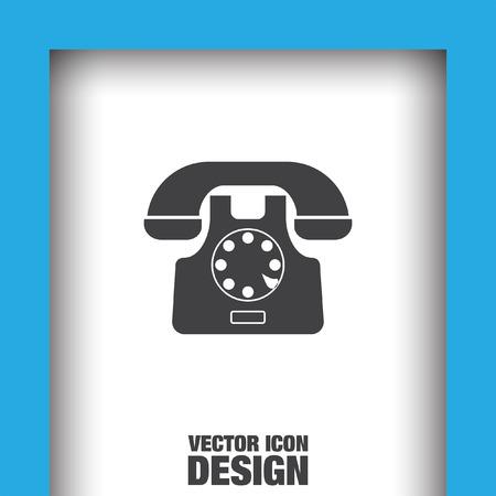 phone icon: phone symbol vector icon