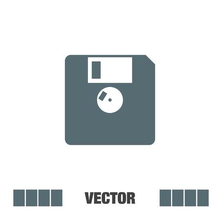 diskette vector icon Vektorové ilustrace