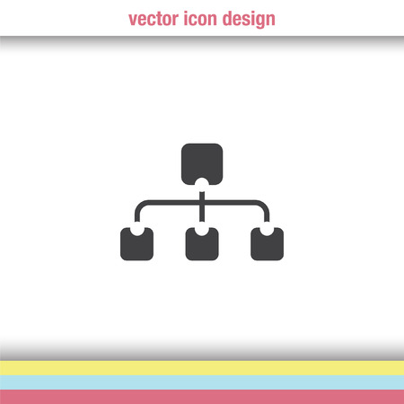 site map: site map vector icon