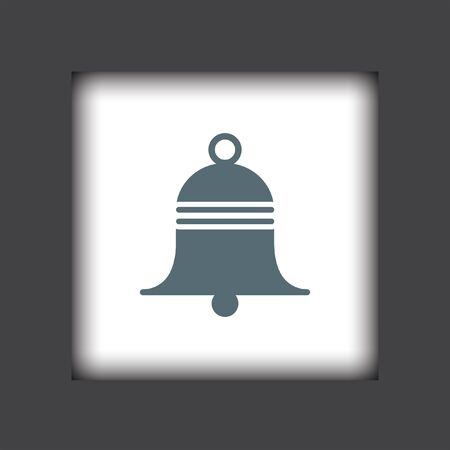 door bell: bell vector icon