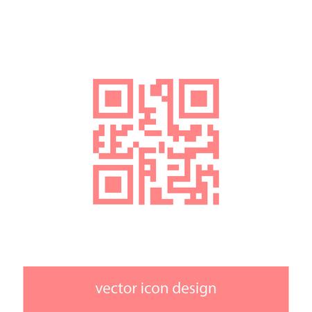 qrcode: qr code vector icon