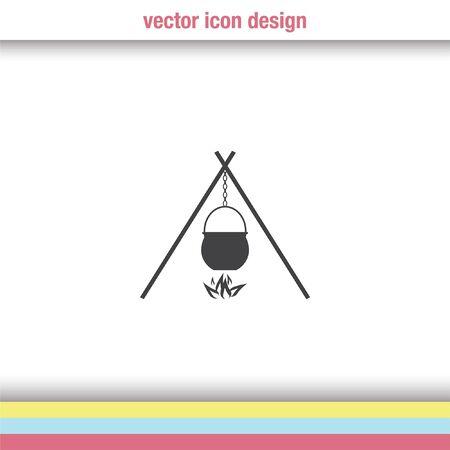 cauldron: cauldron vector icon