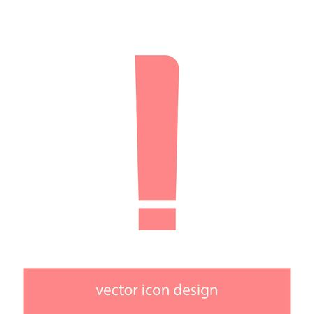 exclamation: exclamation mark vector icon