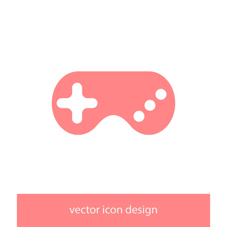 the gamepad: game controller gamepad vector icon