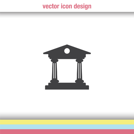institution: Institution vector icon