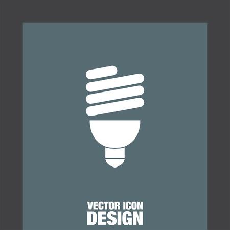 fluorescent light: fluorescent light bulb Illustration