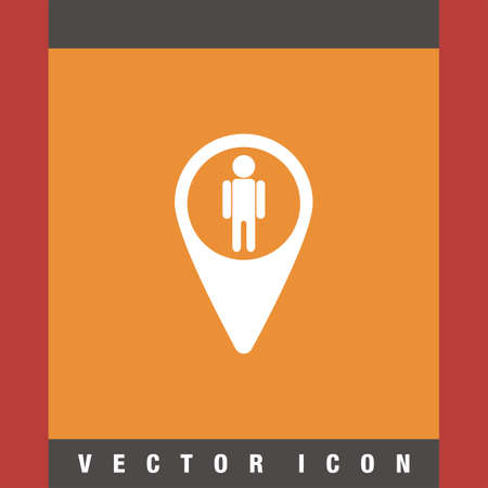 map pin: map pin street view vector icon