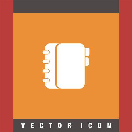 organizer: personal organizer vector icon