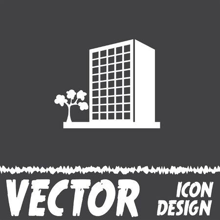 set di icone edificio