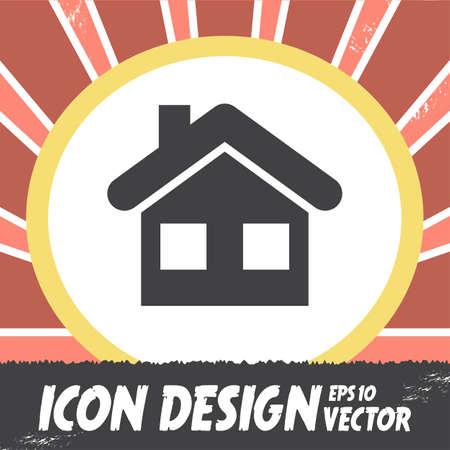 home icon: home vector icon