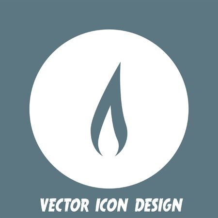flame: flame vector icon