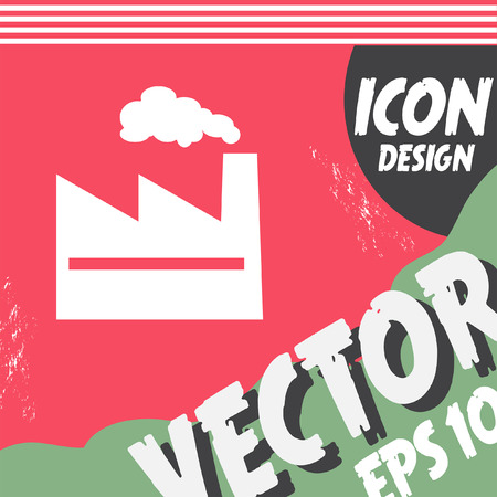 factory: factory vector icon