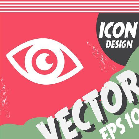 eye vector: eye vector icon