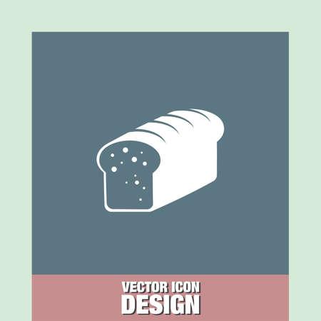 toasted: toast bread vector icon