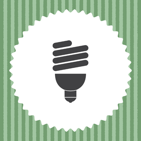 fluorescent: fluorescent light bulb Illustration