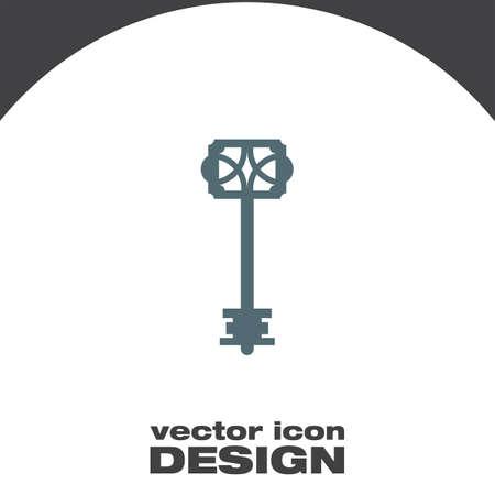 the icon: key icon