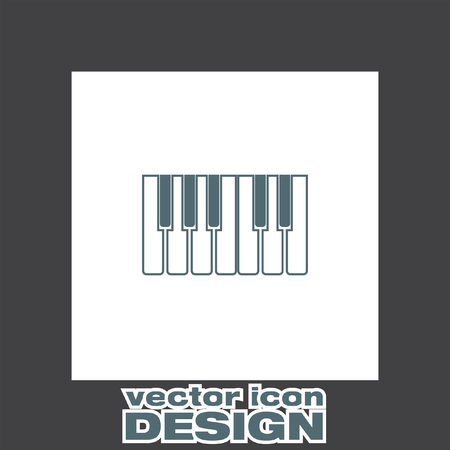 octave: piano keys icon