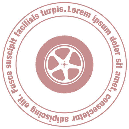 car: car wheel vector icon Illustration