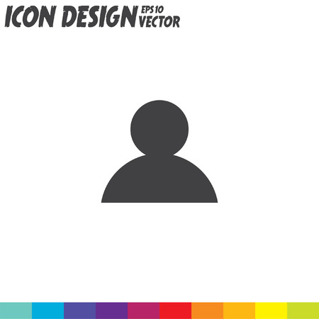 people icon: people vector icon Illustration