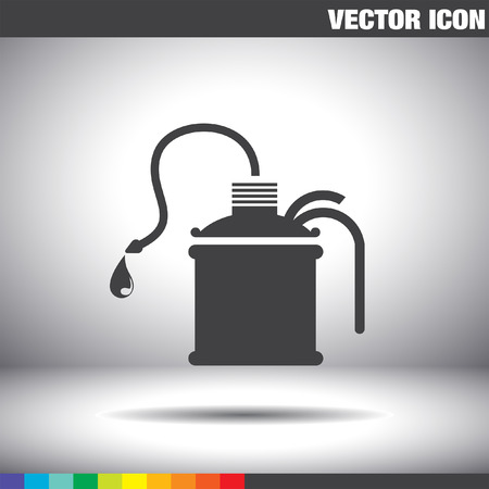oil can: oil can vector icon
