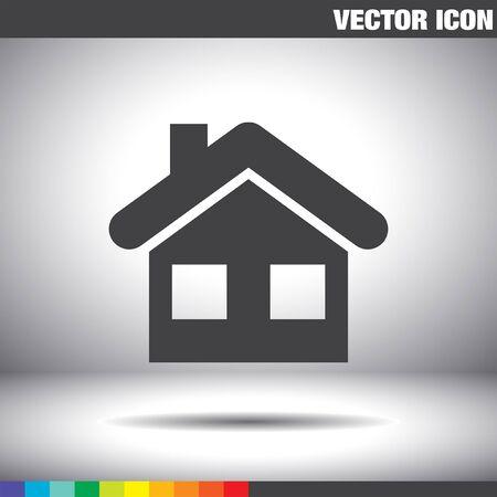 icono de inicio vector