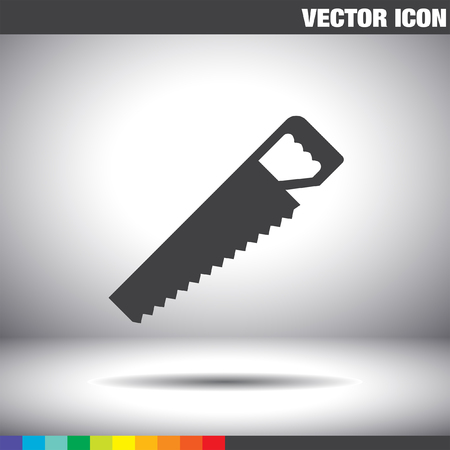 hacksaw: hacksaw vector icon Illustration