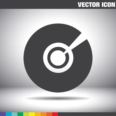 cd dvd vector icon
