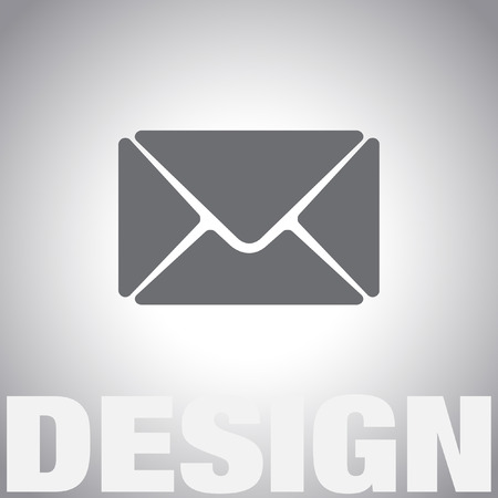 by mail: mail vector icon