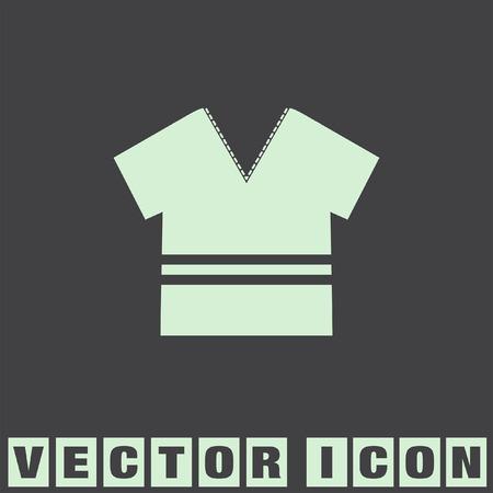 t shirt: modern t shirt vector icon