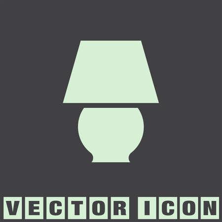 lamp vector: lamp vector icon Illustration