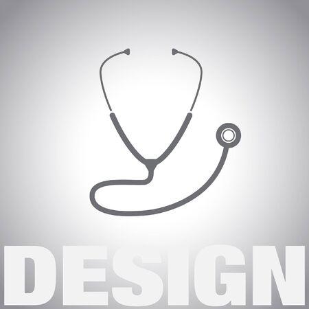 stethoscoop vector icon