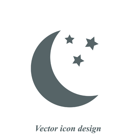 moon vector icon