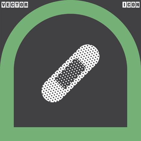 bandaid: band-aid vector icon