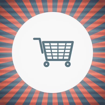 e market: shopping cart icon