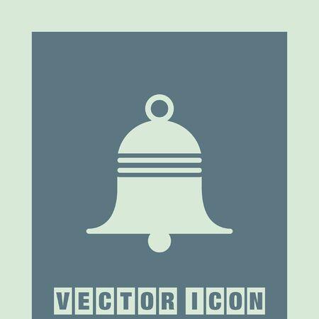 door bell: bell vector icon