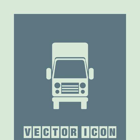 the icon: truck icon Illustration
