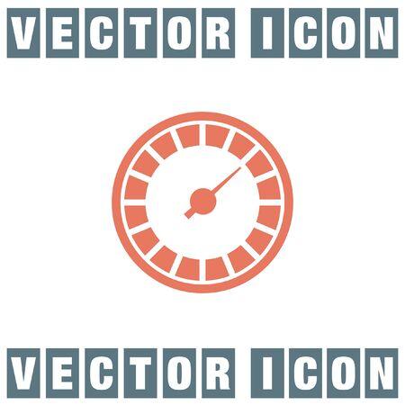 the icon: speedometer icon