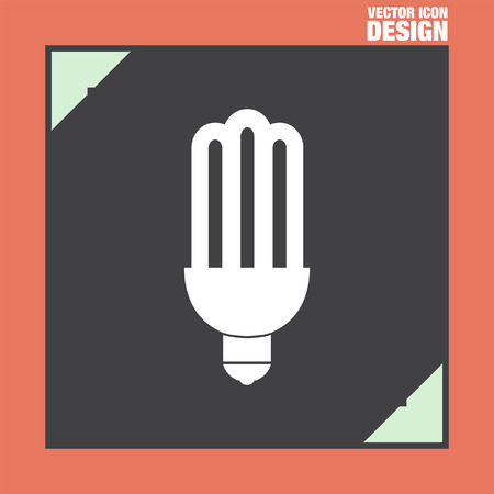 fluorescent: fluorescent saving light bulb