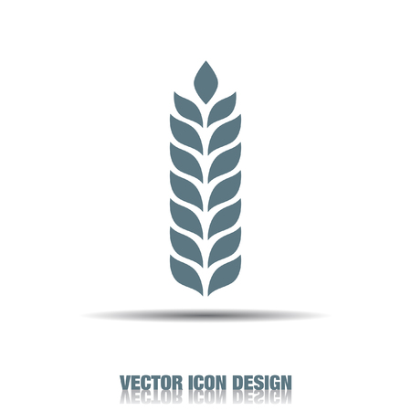 cultivation: wheat vector icon Illustration