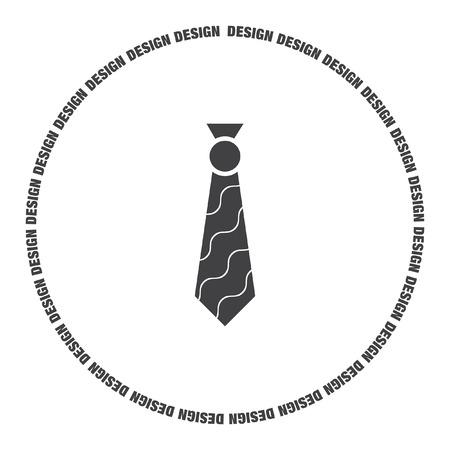 formal shirt: tie vector icon