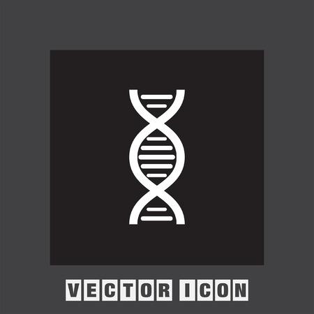 clone: dna chain vector icon Illustration
