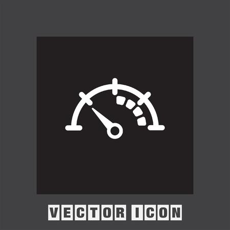 speedometer: speedometer vector icon