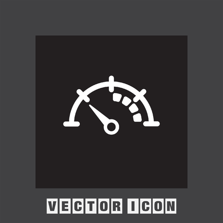 compteur de vitesse: tachymètre vecteur icône