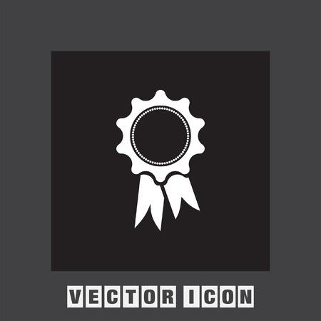 award ribbon: award ribbon icon