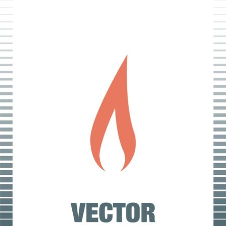 inferno: flame vector icon