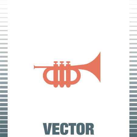 trumpet vector: Trumpet vector icon