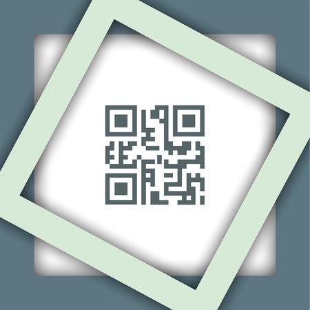 qr code vector icon