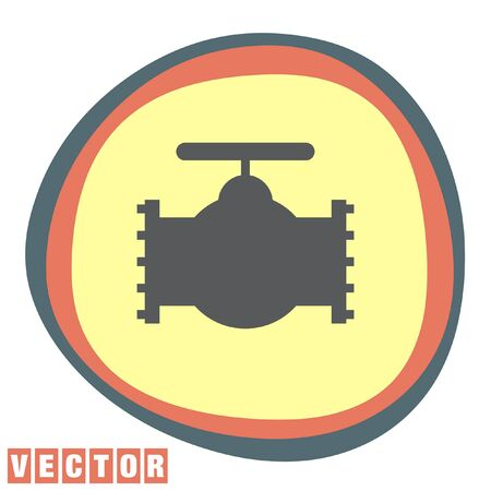 industry: industry valve vector icon